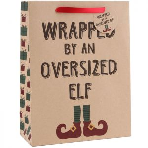 Wrapped By An Oversized Elf Gift Bag - Large