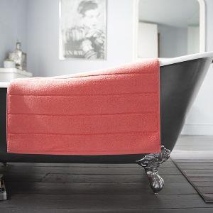 Deyongs Luxury Terry Bath Mat – Coral