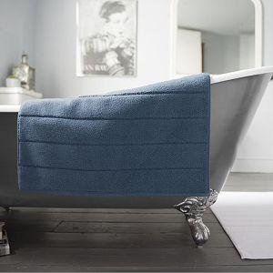 Deyongs Luxury Terry Bath Mat – Navy