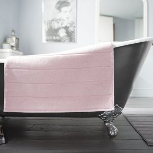 Deyongs Luxury Terry Bath Mat – Pink