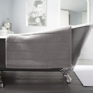 Deyongs Luxury Terry Bath Mat – Slate