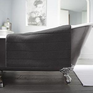 Deyongs Luxury Terry Bath Mat – Steel