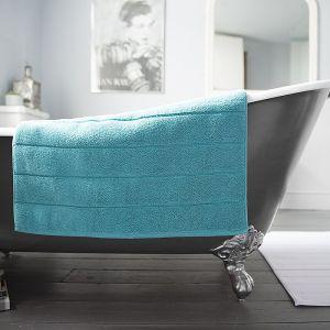 Deyongs Luxury Terry Bath Mat – Teal