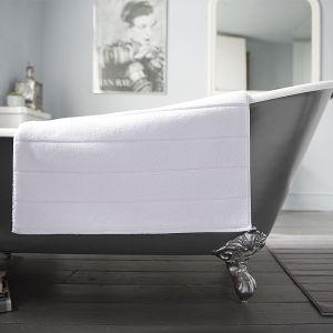 Deyongs Luxury Terry Bath Mat – White
