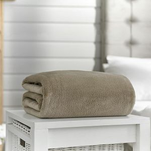 Deyongs Snuggle Touch Throw – Pebble