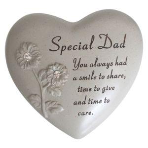 David Fischhoff Memorial Heart, Flowers- Special Dad