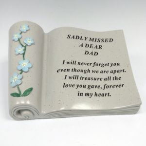 David Fischhoff Memorial Forget Me Not Scroll - Dad