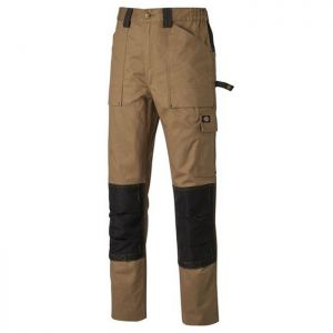 Dickies Grafter Duo Tone Trousers - Khaki/Black