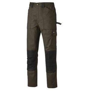 Dickies Grafter Duo Tone Trousers - Brown/Black