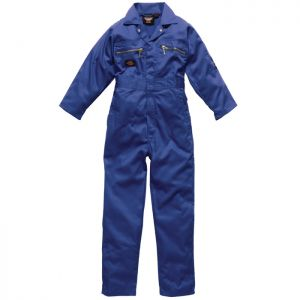 Dickies Redhawk Children's Boilersuit - Blue