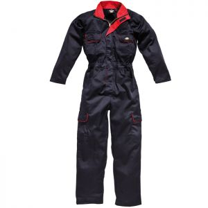 Dickies Redhawk Women's Overall - Navy/Red