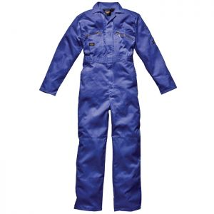 Dickies Redhawk Zip Front Men's Overall - Royal Blue