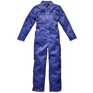Dickies Redhawk Zip Front Men's Overall - Royal Blue