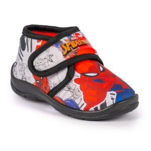 Lunar Children's Spiderman III Slippers - Black