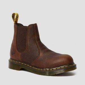 Dr Martens Women's Arbor Safety Boots - Teak