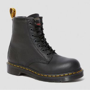 Dr Martens Women's Maple Zip Safety Boots - Black