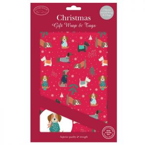 Christmas Gift Wrap & Tags – Dogs & Jumpers