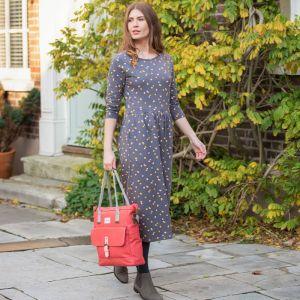 Brakeburn Women's Dotty Mini Dress - Grey