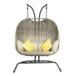 Leisuregrow Bergen Double Egg Chair