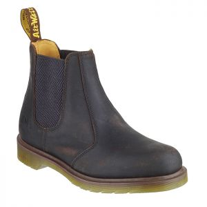 Dr Martens Men's Leather Dealer Chelsea Boots – Gaucho Brown