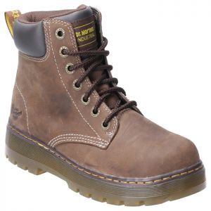 Dr Martens Men's Winch Non-Safety Lace Up Boots – Brown