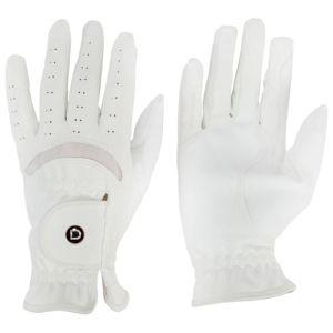 Dublin Dressage Riding Gloves - White