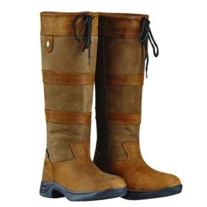 Dublin River Boots III, Wide Fit - Dark Brown
