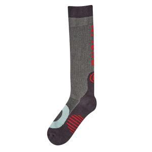 Dublin Technical Socks – Charcoal Melange