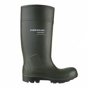 Dunlop Men's D460933 Purofort Professional Wellington Boots - Green