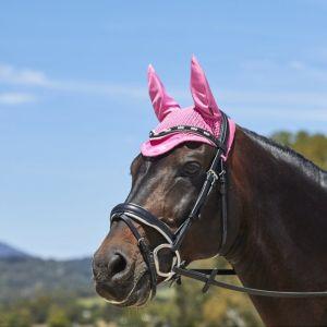 Weatherbeeta Marble Ear Bonnet – Pink
