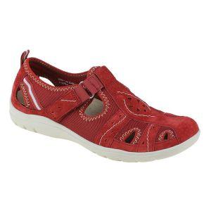 Earth Spirit Women's Cleveland Shoe – Cardinal Red