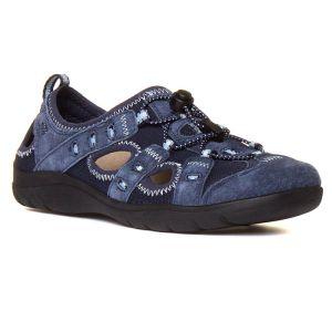 Earth Spirit Women's Winona Shoe – Navy Blue