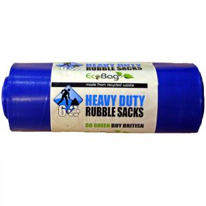 Eco Bag Heavy Duty Rubble Sacks - 30 Litres, 6 Pack