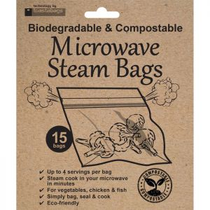 Planit Products 15 Eco Microwave Steam Bags