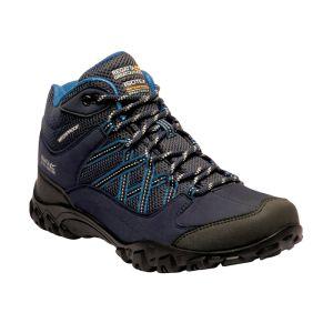 Regatta Women's Edgepoint Mid Walking Boots – Navy/Petrol Blue
