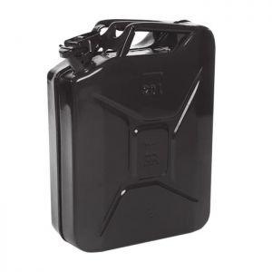 Efco Metal Jerry Can, 20L - Black