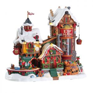 Lemax Christmas Figurine - Elf Made Toy Factory