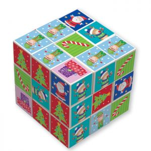 Christmas Elf Puzzle Cube