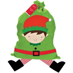 Christmas Elf Gift Sack With Legs