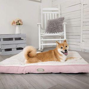 Scruffs Ellen Dog Mattress – Pink