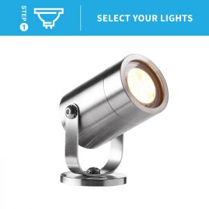 Ellumiere Stainless Steel Spotlight - Small
