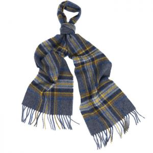 Barbour Elwood Scarf - Grey/Navy
