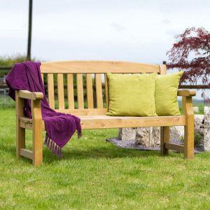 Zest 4 Leisure Emily Garden Bench - 3 Seater