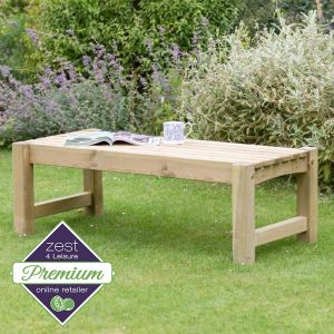 Zest 4 Leisure Emily Coffee Table/Bench