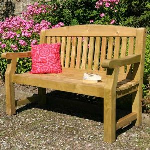 Zest 4 Leisure Emily Garden Bench - 3 Seater