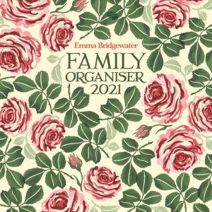 Emma Bridgewater Pink Roses Family Planner 2021