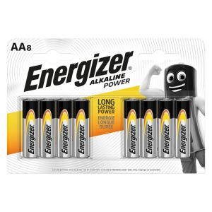 Energizer Battery AA - 8 Pack