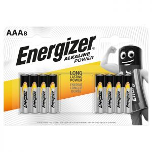 Energizer Battery AAA - 8 Pack