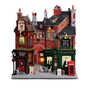 Lemax Christmas Figurine - English Lane