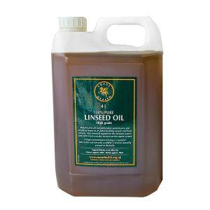 Equus Health High Grade Pure Linseed Oil – 4L